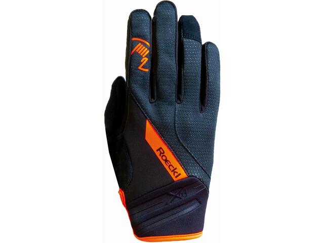 Roeckl Renon Handschoenen, black/orange